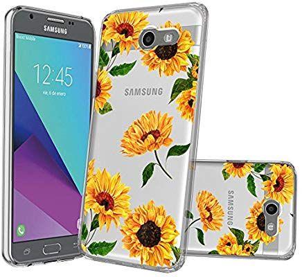 wholesale dealer 2901e 38650 Amazon.com: Clear MINITURTLE Case Compatible with Galaxy J3 Emerge ...