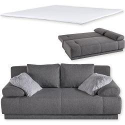 Set Schlafsofa Und Topper Schwarz Roller In 2020 Sofa