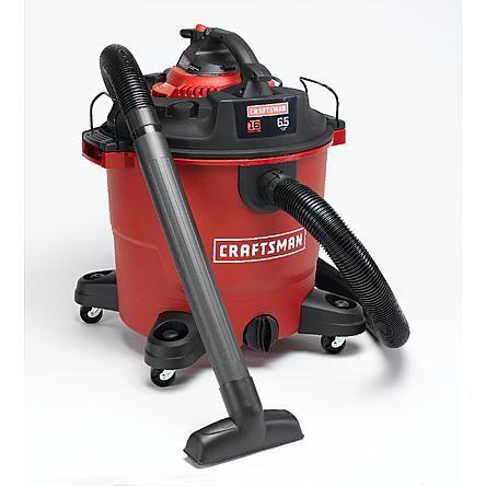 Craftsman Craftsman 16 Gal 6 5 Hp Wet Dry Vac Set With Detachable