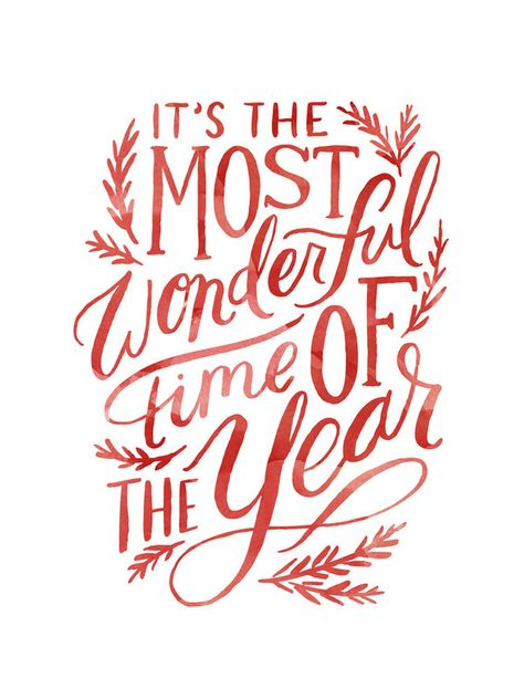 The Most Wonderful Time Painted Wall Art Prints by Alethea and Ruth | Minted
