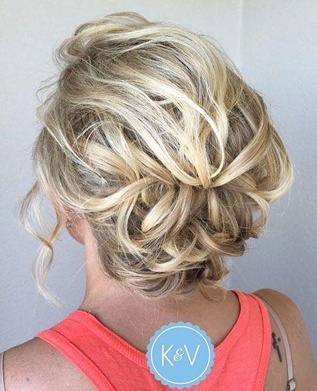 30 Inspirational Prom Hairstyles For Short Hair Diy Prom Hairstyles For Short H Uzun Sac Kivircik Sac Sevimli Kisa Sac