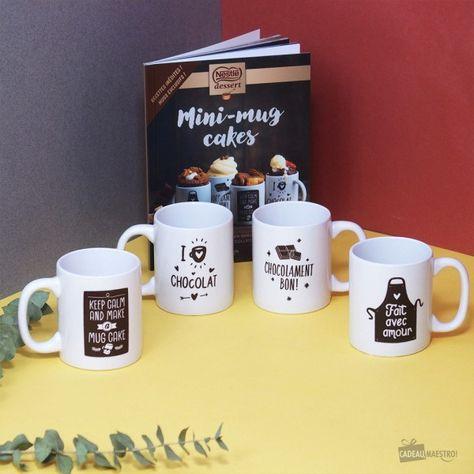 Coffret Mug Cakes Desserts X4 Recette Nestle Dessert Livre De