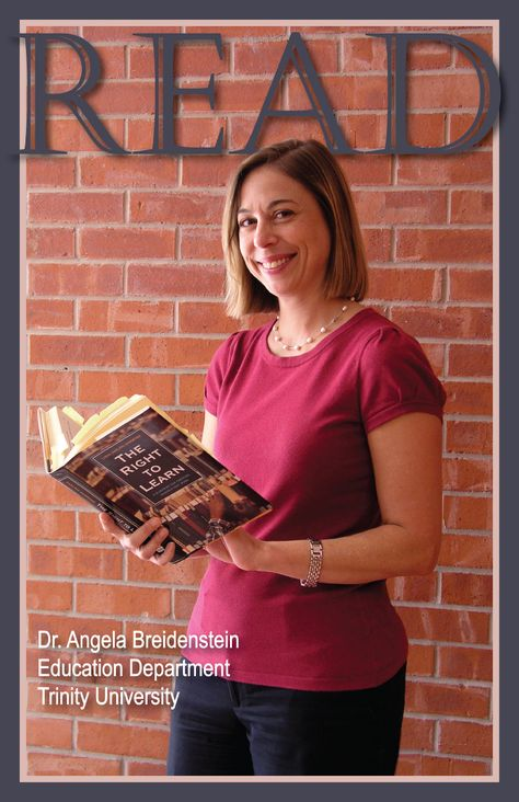 READ Poster, Professor Angela Breidenstein, Education