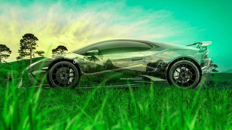 Mazda RX 7 JDM Tuning 3D Crystal Nature Car 2015 Green Grass Style 4K Wallpapers Design By Tony Kokhan Www.el Tony.com Image  | El Tony.com | Pinterest | Jdm ... Awesome Ideas
