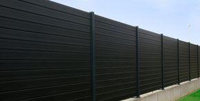Larmschutz Zaun Sichtschutz Zaun Aus Wpc Wood P In 2020 Zaun Sichtschutz Zaun Larmschutz Garten