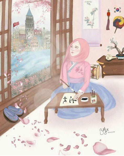 List Of Pinterest Hijab Anime Muslim Wallpaper Ideas Hijab Anime