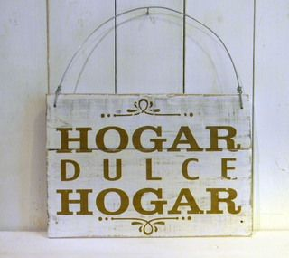 Letreros Vintage Hogar Dulce Hogar Con Imagenes Dulce Hogar