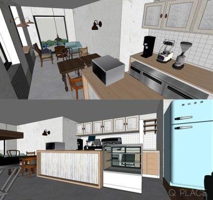 130 주택 개조 카페 빈티지 디자인 네이버 블로그 디자인 인테리어 디자이너