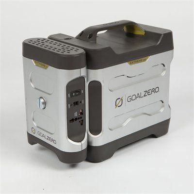 Goal Zero Solar Power Pack Replace The Generator With Solar Power Solar Power Solar Panels For Home Solar