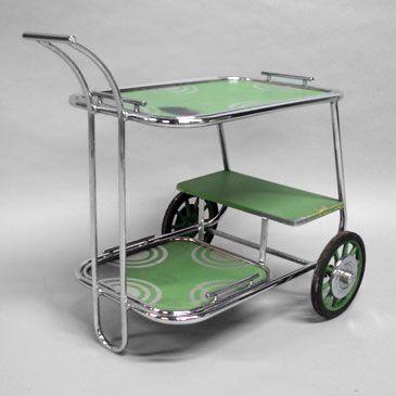 Art Deco Drinks Cart Tomgibbsstudio Via Suzy Dallas Art