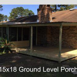Deck Builders View Our Gallery Of Decks And Porches Ready Decks Mobile Home Porch Decks Backyard Patio Covered Patio Design