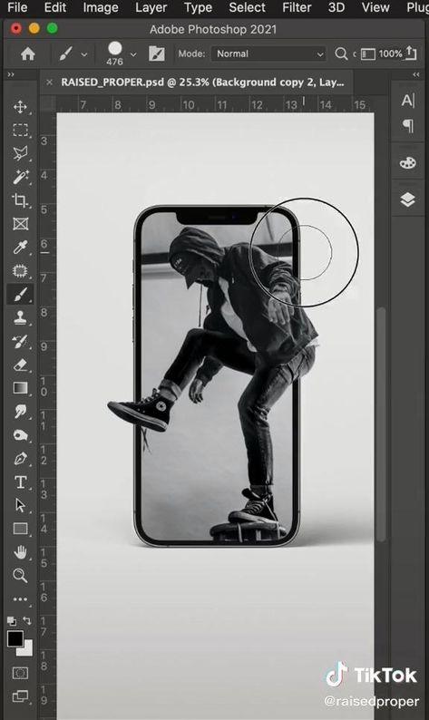 adobe photoshop iPhone tutorial