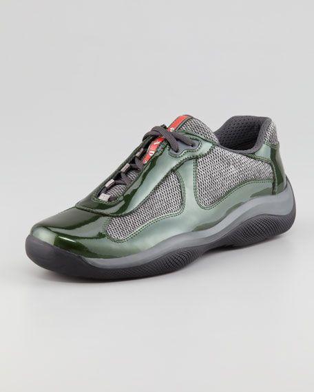 87c10c0785c0f America's Cup Sneaker, Green/Gray | Sneaker heads in 2019 | Sneakers ...