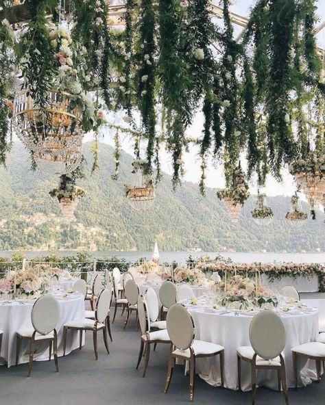 Lake Como is always a magical wedding location but this decor by just takes it to the next level by . Wedding Day Wedding Planner Your Big Day Weddings Wedding Dresses Wedding Bells Wedding Cake Magical Wedding, Elegant Wedding, Perfect Wedding, Dream Wedding, Luxury Wedding, Parisian Wedding, Beautiful Wedding Venues, Romantic Weddings, Unique Weddings