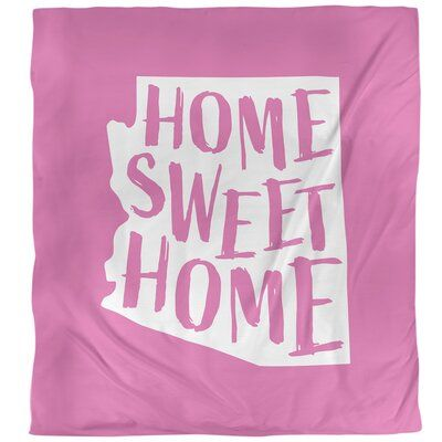 East Urban Home Home Sweet Arizona Single Duvet Cover Single Duvet Cover Duvet Covers Sweet Home