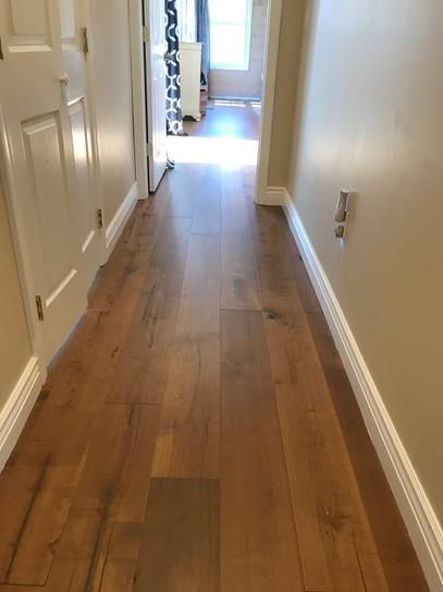 Malibu Wide Plank Maple Cardiff 1 2 In Thick X 7 1 2 In Wide X Varying Length Engineered Har In 2020 Engineered Hardwood Flooring Hardwood Floors Engineered Hardwood