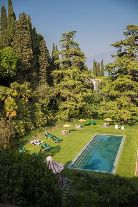 Villa Feltrinelli, Lake Garda - The Londoner Places Around The World, The Places Youll Go, Around The Worlds, Lake Villa, Verona Italy, Puglia Italy, Venice Italy, Villas In Italy, Old Money