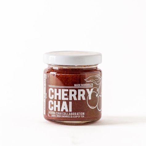 DONA CHAI CHERRY JAM - 4OZ