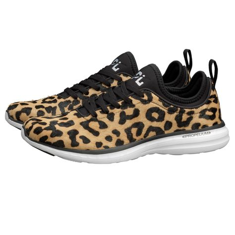 160160b71bff APL Women's Running Shoes TechLoom Phantom Leopard/Black/White