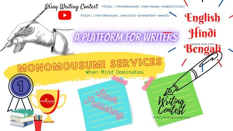 Monomousumi Services , A Platform for Writers ...