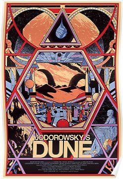 New Jodorowsky/'s Dune Custom Silk Poster Wall Decor
