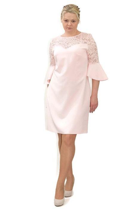 ed24d9ba3c Elegancka sukienka XXL 40-60 na wesele PAOLA duże rozmiary - XELKA odzież  damska online