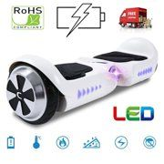 """Hoverboard pour les enfants 6,5 /"""" Scooters Électriques Balance Bluetooth Lumière"""