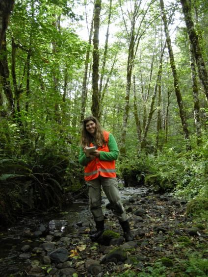 Meet Brooke Penaluna Brooke Penaluna Is A Research Fisheries Biologist At The Usda Forest Service S Pacific North Forest Service National Parks Service Jobs