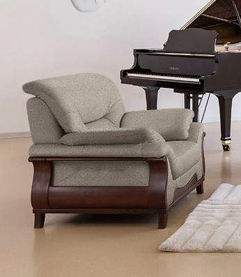 Sessel Matea Mit Schon Geschwungenem Massivholzgestell Sessel Sessel Design Und Fernsehsessel
