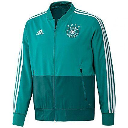 149f4110625b2 Germany Presentation Jacket 2018 / 2019 - Green/White - XXL | Soccer ...