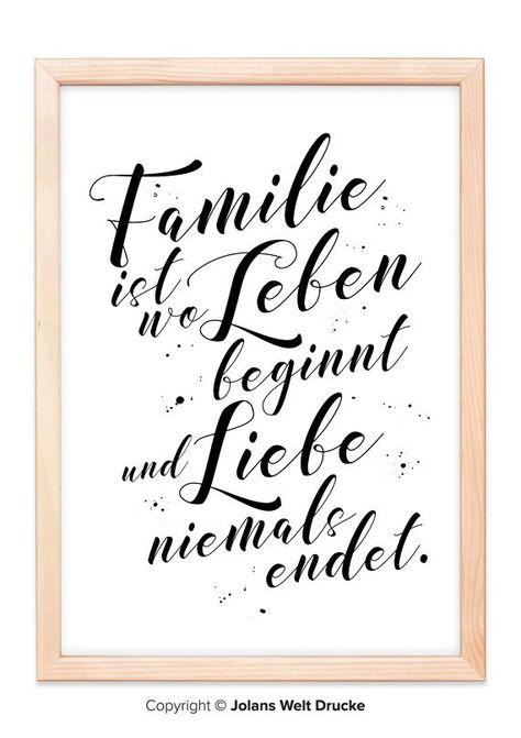 Familie Kunstdruck Von Jolanswelt Kunstdrucke Familie