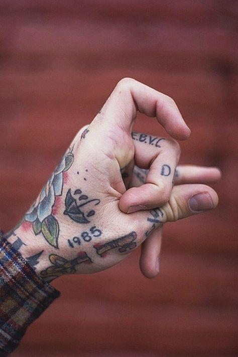🔴  Best Finger Tattoos (HD images) - #10138 #tattoo #fingertattoos #fingertattoosformen