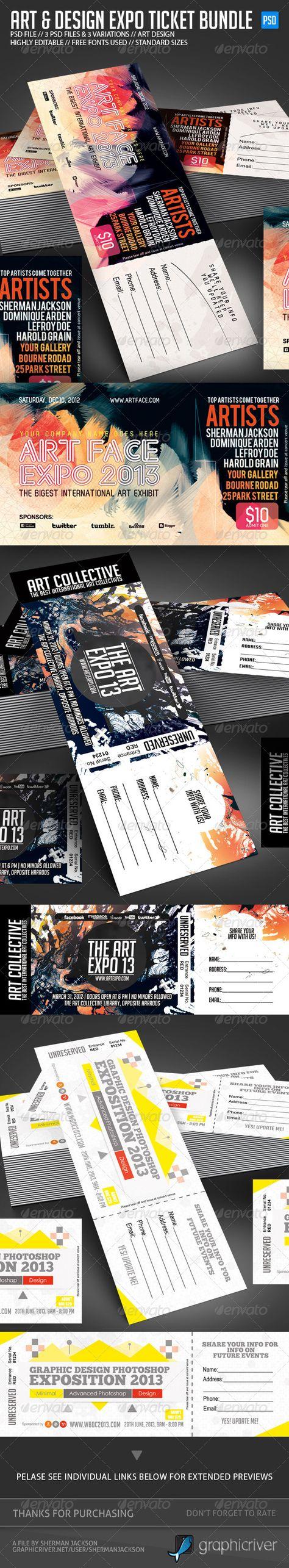 Design & Art Expo Show Passes/Tickets Bundle