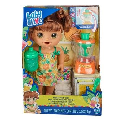 Baby Alive Magical Mixer Baby Doll Pineapple Treat In 2020 With