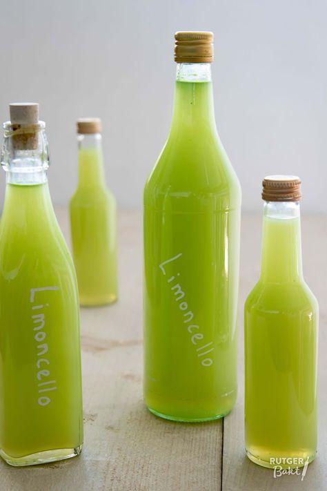 Zelf limoncello maken - Rutger Bakt