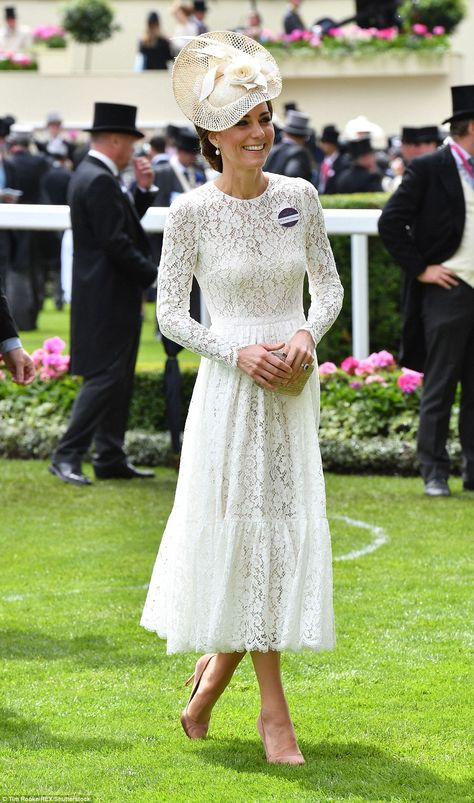 Kate Middleton and Prince William make first Royal Ascot appearance | Daily Mail Online
