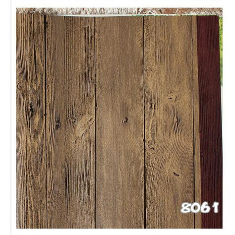 Realistic Wood Optic Panelling Timber Plank Wood Panel Stripe Wallpaper-10M Roll