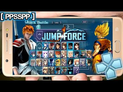 New Jump Force Mod For Android Ppsspp Emulator Download In 2020