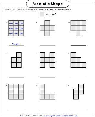 26 Shapes Worksheets For Grade 2 Area Worksheet Counting Squares L X Area Worksheets Perimeter Worksheets Area And Perimeter Shapes worksheets for grade 2