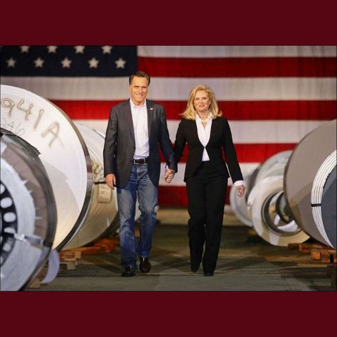 Mitt Romney & his Wife Ann...The behind the scenes stories of things he has done for other people, just blow me away. A truly caring man.