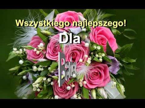 Piosenka Prezent Na Imieniny Dla Barbary Beautiful Flowers Flowers Bouquet Flowers