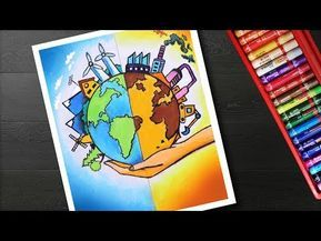 10+ Best For Global Warming Drawing Easy Poster Making