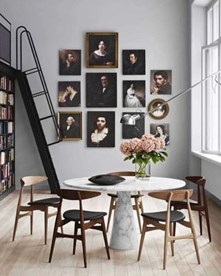 Affordable Large Scale Art How To Get It In Your Home Emily Henderson Gallery Wall Pretty Room Interior Design Living Room