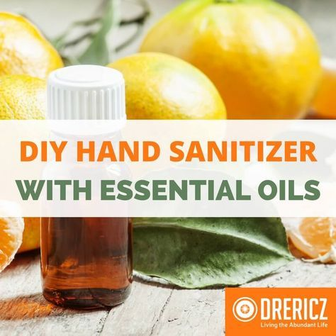 Diy Hand Sanitizer Recipe Essential Oils Hand Sanitizer