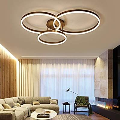 Chandelier Living Room Dimmable 75w Led Ceiling Lights Acrylic Panel Modern Sty Ceiling Lights Living Room Chandelier In Living Room Light Fittings Living Room