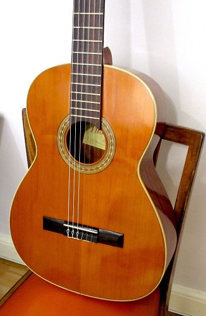 Hand Made Solid Cedar Top Vintage Classical Spanish Guitar New Set Up Bone Nut And Saddle Mount Xiao Vintage Reverb Guitar Classical Guitar Bag