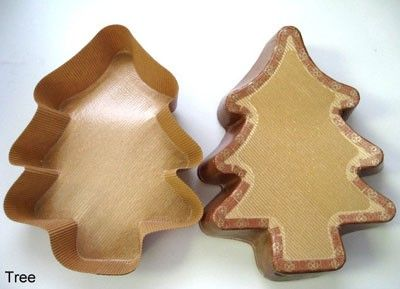 Large Christmas Tree Paper Baking Mold 320 Case Large Christmas Tree Baking Molds Christmas Tree