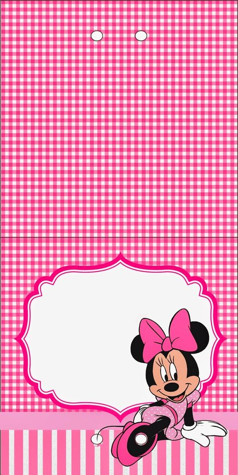 Minnie Printable Candy Bar Labels