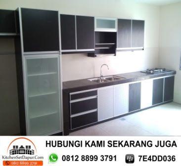 Harga kitchen set aluminium