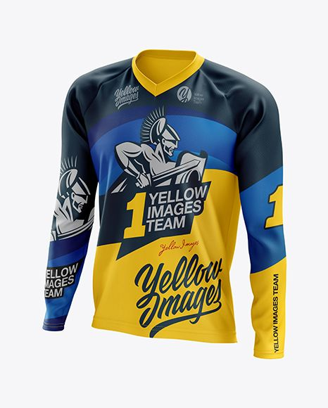 Download Men S Mtb Trail Jersey Ls Mockup Half Side View In Apparel Mockups On Yellow Images Object Mockups Clothing Mockup Design Mockup Free Mockup Psd